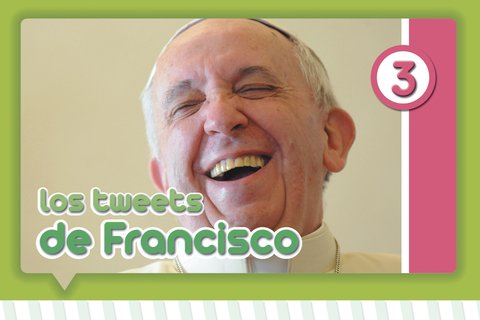 Los tweets del Papa Francisco en internet