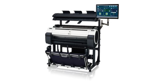 Multifuncional Plotter Color IPF780 MFP M40 Canon na internet