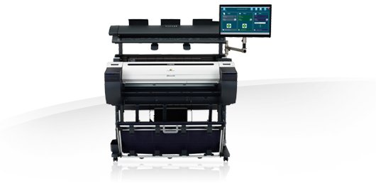 Multifuncional Plotter Color IPF780 MFP M40 Canon