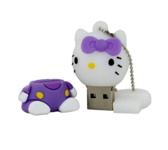Pen drive Hello Kitty Roxo - comprar online