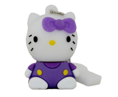 Pen drive Hello Kitty Roxo