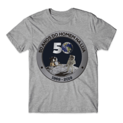 Camiseta 50 ANOS DO HOMEM NA LUA - SPACE TODAY STORE