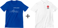 Perseverance - Kit 3 - MARS 2020 = 1 Camiseta + 1 Polo Logo Missão + 1 Caneca - SPACE TODAY STORE