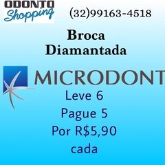 Broca Diamantada FG - Microdont