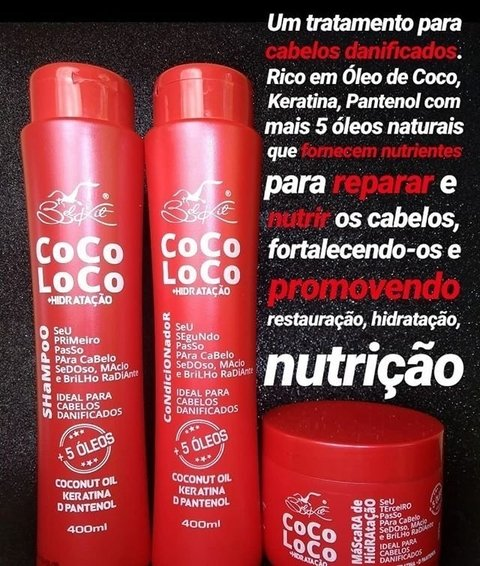 Kit Profissional Coco Loco Belkit - comprar online