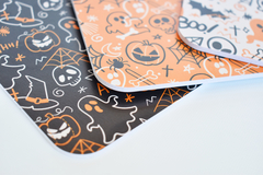 ESPECIAL HALLOWEEN - PACK X 10 BASES ESTAMPAS SURTIDAS O IGUALES - Markit