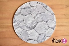 Base para torta de 25 cm x 5 mm Simil Rocas.