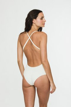 "Off white ""Roxette"" one piece on internet"