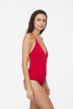 "Red ""Roxette"" one piece - buy online"