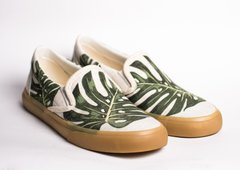 Printed Sneakers Monstera