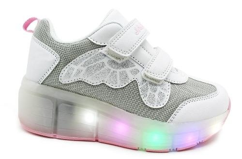 Zapatilla Jaguar Con Luces Led Art 4014
