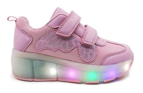 Zapatilla Jaguar Con Luces Led Art 4014 - comprar online