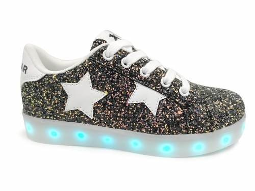 Zapatilla Jaguar Con Luces Led Art 4012 - comprar online