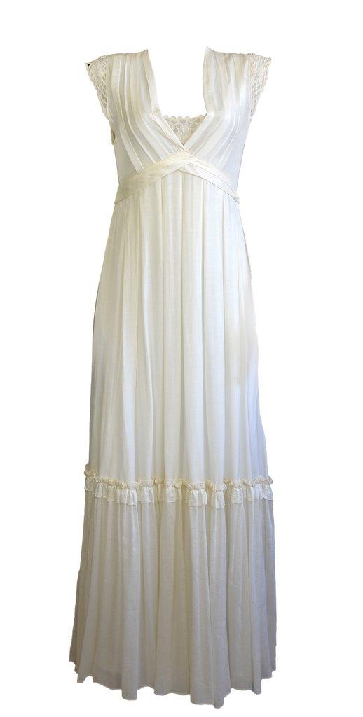 56a31e7ba VESTIDO CRIS BARROS OFF WHITE - Wishic Desejos de Luxo