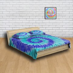 Kit Cama + Cortina Tie Dye 013 na internet