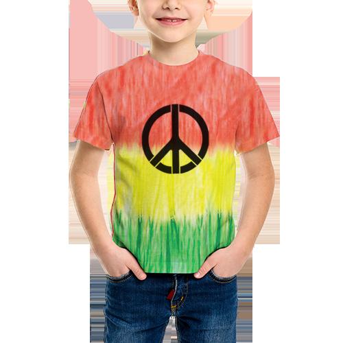 ed377ed323 Camiseta Tie Dye 012 Simbolo da Paz - Celtia Tie Dye