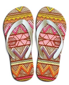 Chinelo Tribal 004 - comprar online