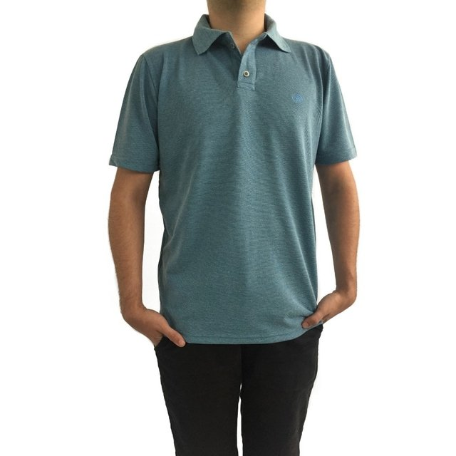 Camiseta Polo com bordado