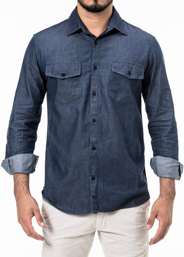 Camisa Regular Won Jeans Bruto