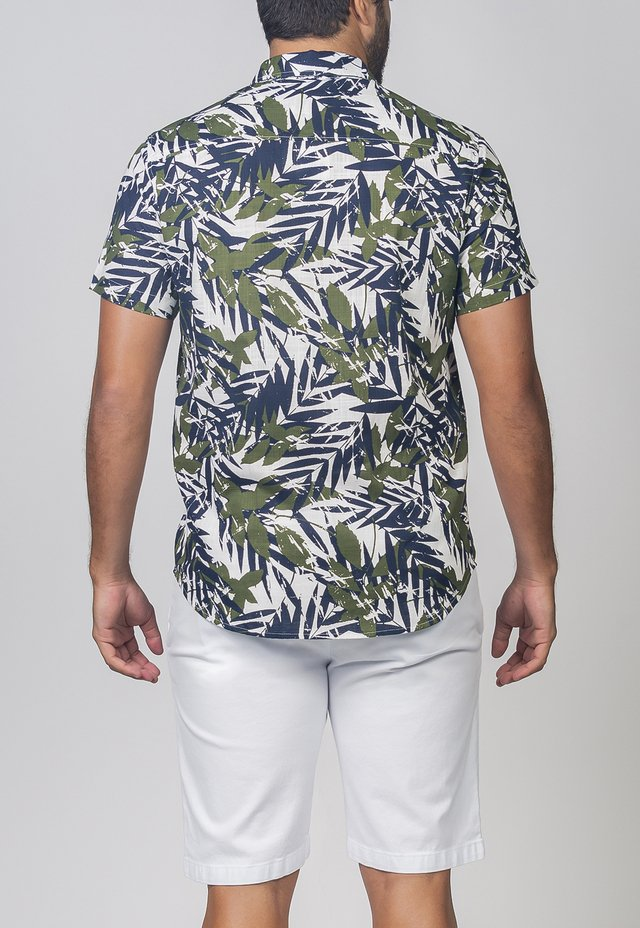 CAMISA MC FOLIAGE ESTAMPADO na internet