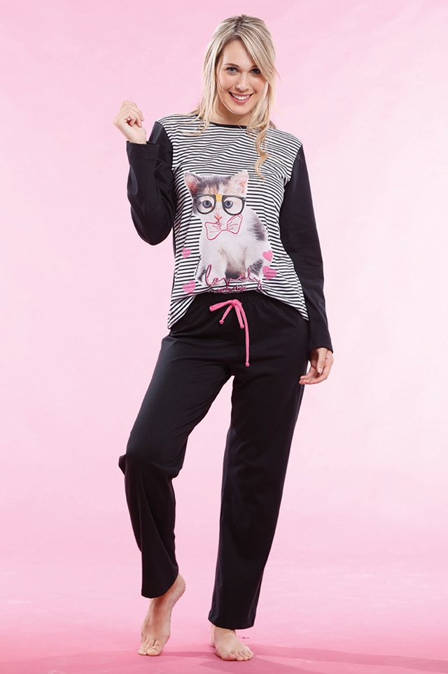 Pijama Sweety Cat - ART.1835 - comprar online