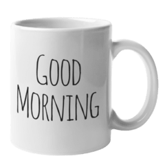 Caneca Good Morning, A partir de... - comprar online
