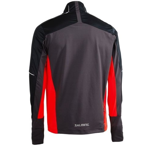 SALMING THERMAL WIND JACKET ORANGLE FLAME MEN - comprar online