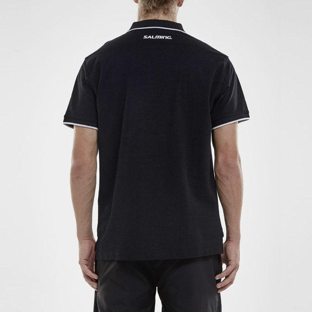 SALMING TEAM POLO BLACK MEN - tienda online