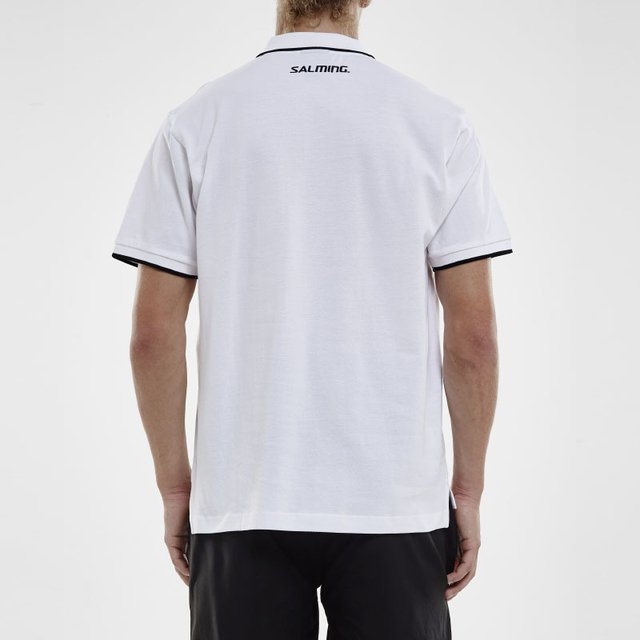 SALMING TEAM POLO WHITE MEN - tienda online