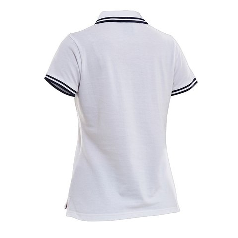 SALMING TEAM POLO WHITE WOMEN - comprar online