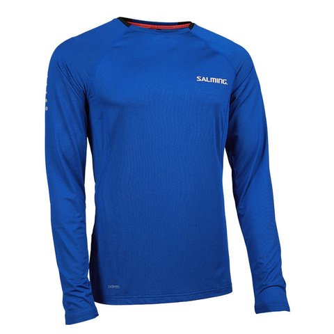 Balance Long Sleeve Tee Blue Saphire