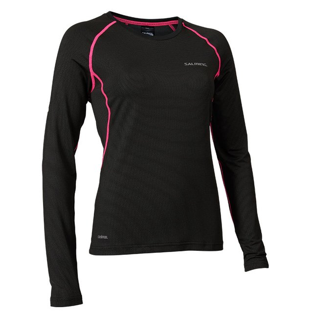 Balance Long Sleeve Tee Black/Pink Glo