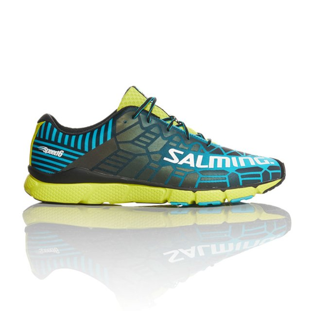 SALMING SPEED 6 BLUE LIME HOMBRE