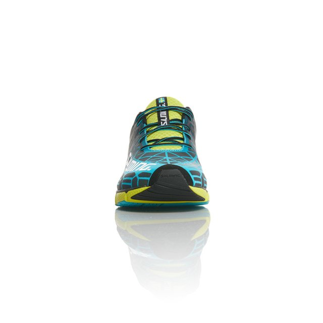 SALMING SPEED 6 BLUE LIME HOMBRE - Salming