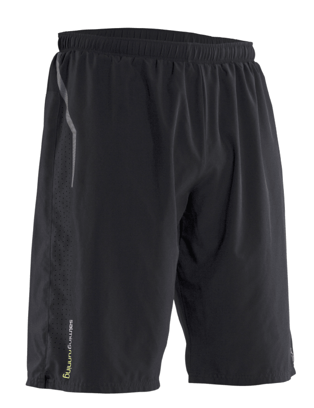 LONG SHORTS BLACK