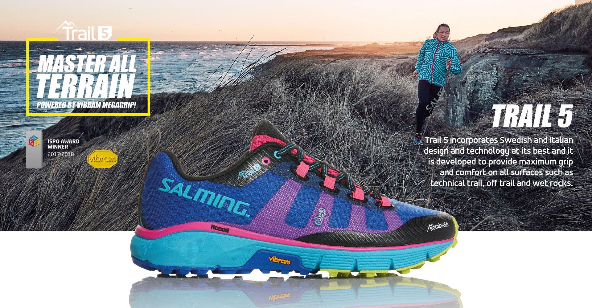 Resultado de imagen para salming trail 5 blue