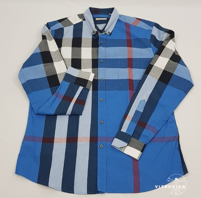 df9d236bff ... Imagem do CAMISA BURBERRY BRIT ESTAMPA XADREZ SOCIAL ...