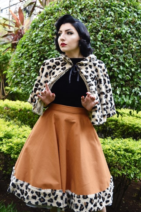 Leopard Stole - Rainbow Pin Up Store
