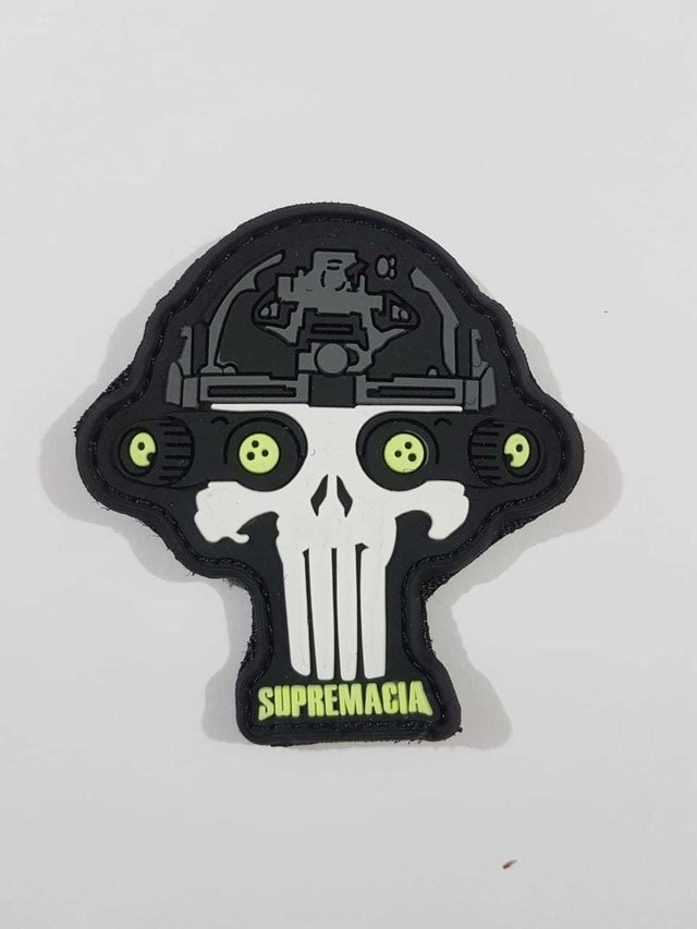 Patch Caveira macaco - Supremacia