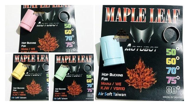 Bucking Maple Leaf Autobot Sniper Vsr 10/gbb - Airsoft