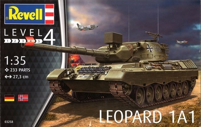 Leopard 1A1 - Revell - 1:35