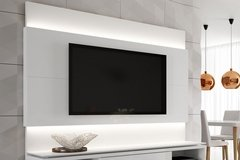 HOME PARA TV LINCOLN BRANCO GLOSS 220 CM