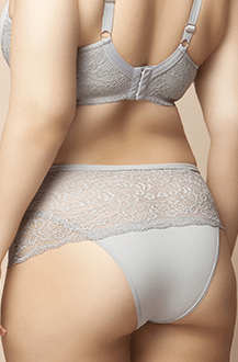Intimaxx Lingerie Plus Size Calcinha com Renda