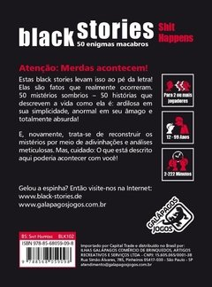 Black Stories Shit Happens - Galápagos Jogos - comprar online
