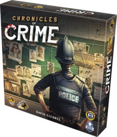 Chronicles of Crime - Galápagos Jogos - comprar online