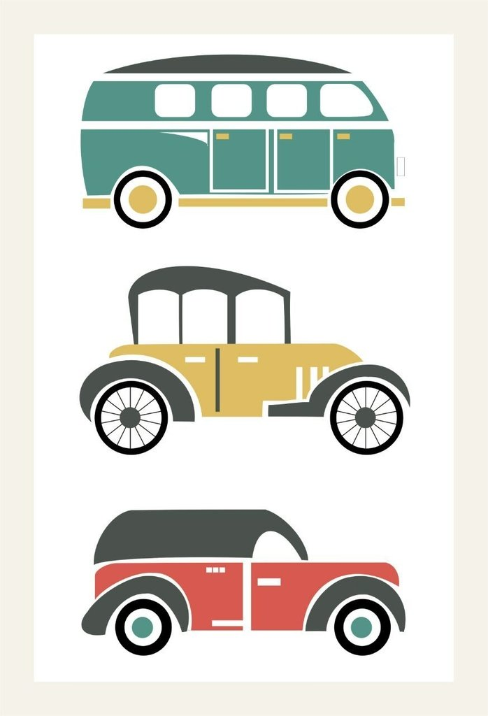 Cuadro Crea: Transporte Combi