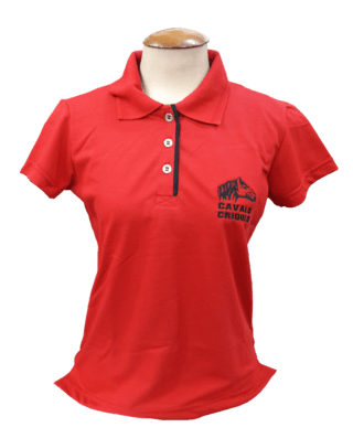 Camisa Polo Feminina Cavalo Crioulo Ref....