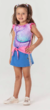 Blusa Infantil M/C MAGIC MERMAID + Brinde - Mon Sucré - comprar online