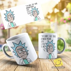 Caneca Personalizada Rick and Morty