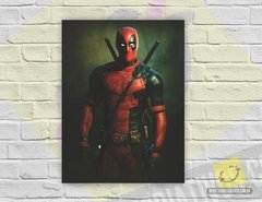 Placa Decorativa - Deadpool (Marvel)
